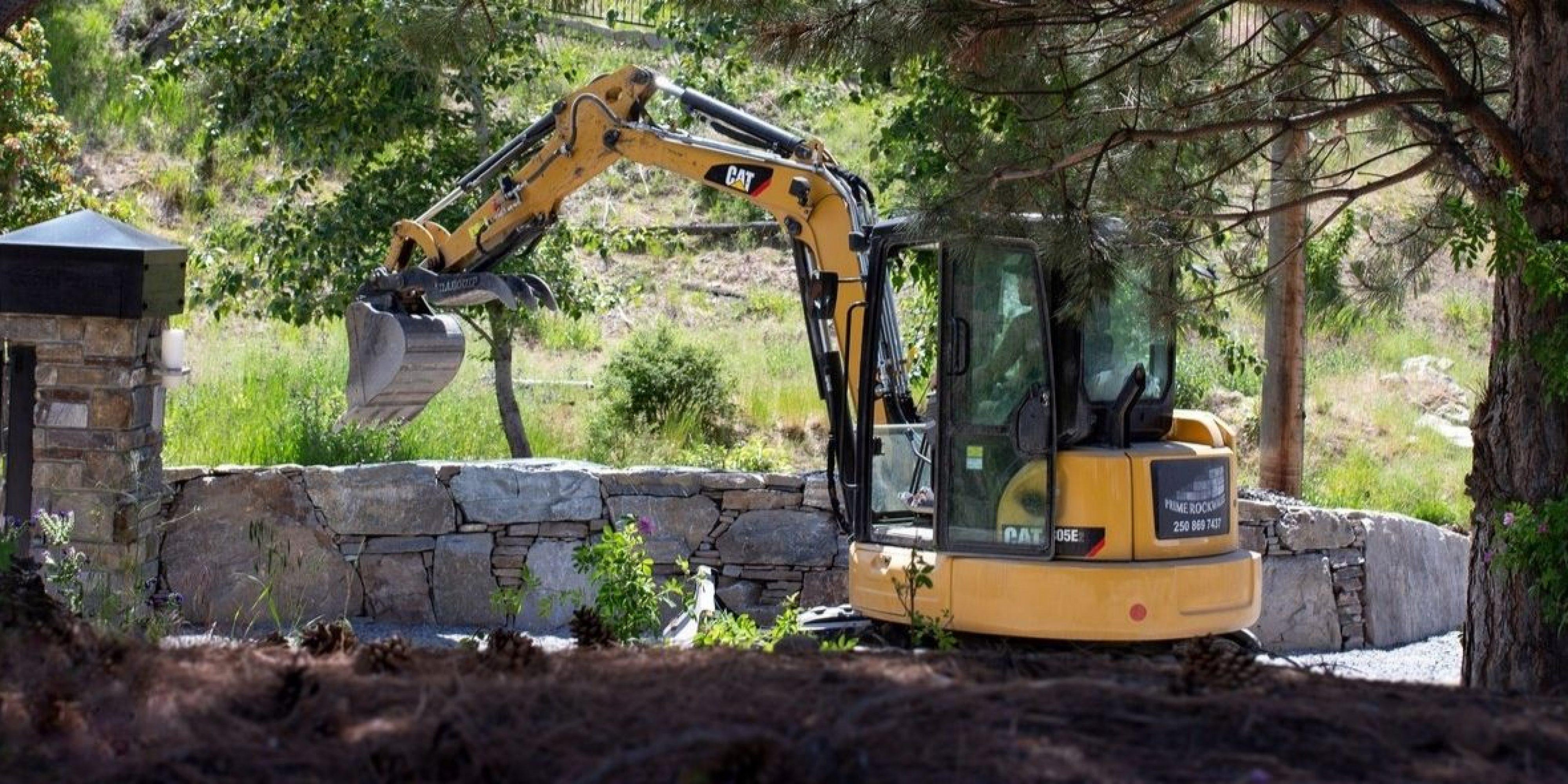 Kelowna excavator