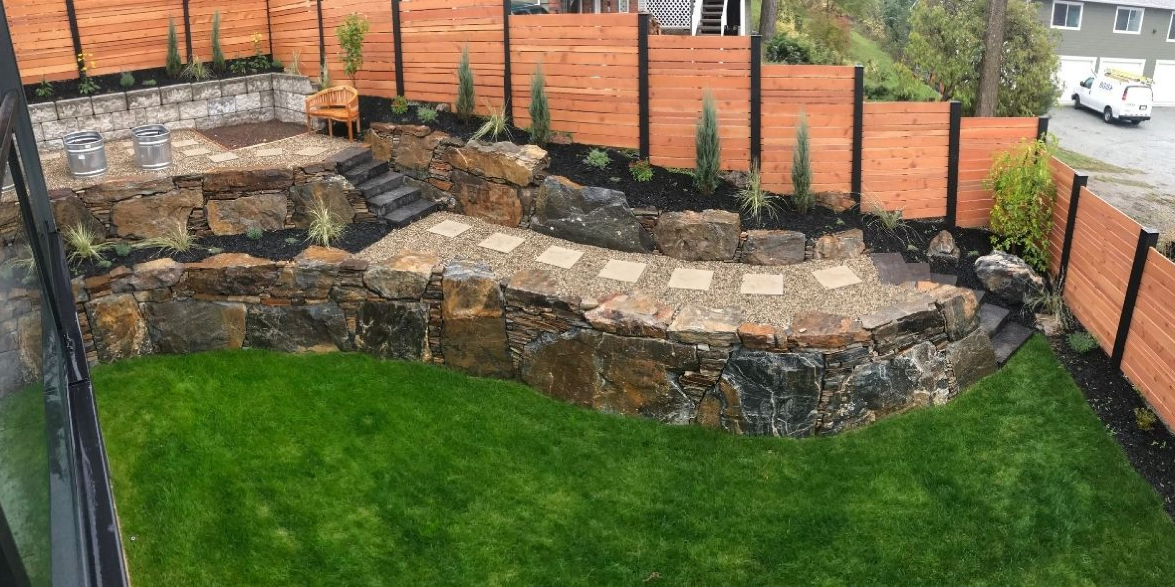 Kelowna rock wall contractor