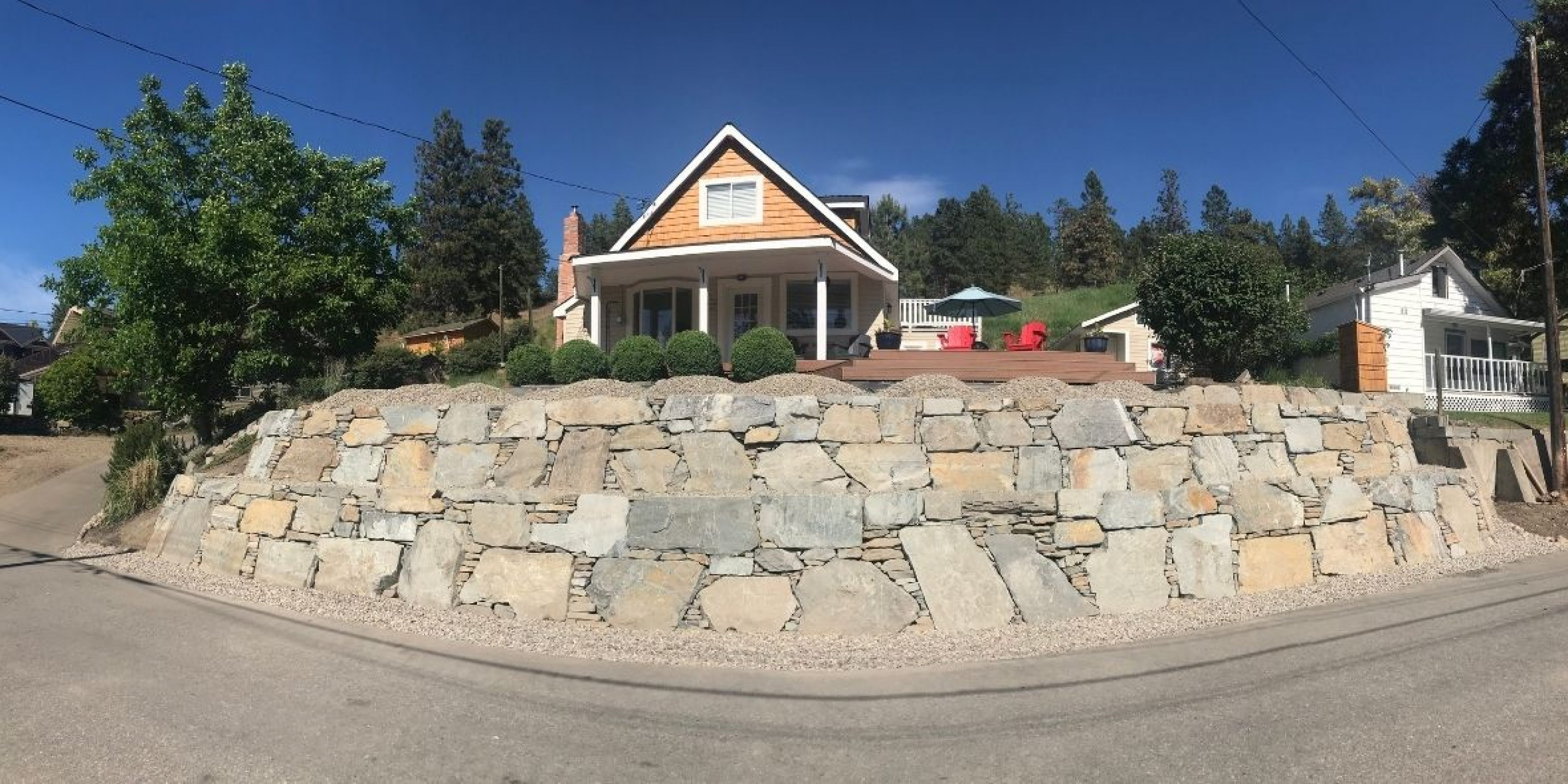 Prime Rock Walls rock wall contractor Kelowna Okanagan